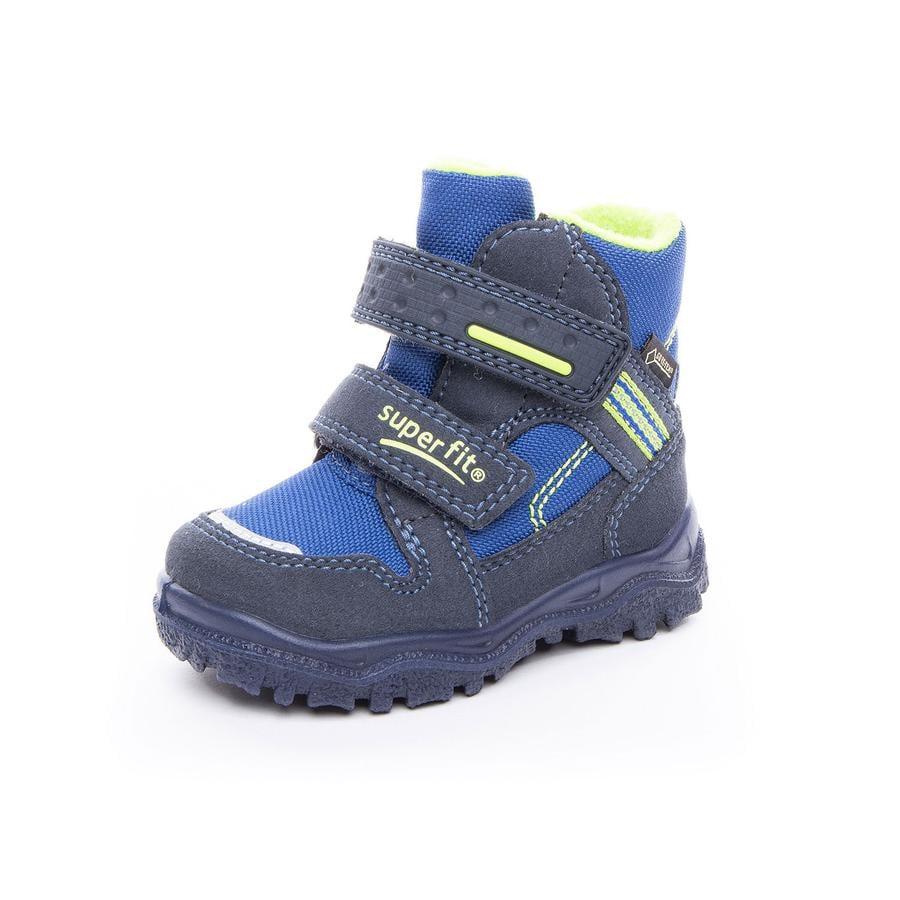 superfit Boys Buty Husky1 niebieski/zielony (średni)