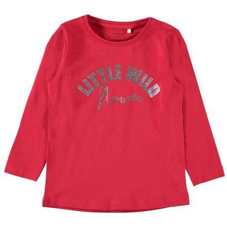 name it Girls Langarmshirt Vix true red