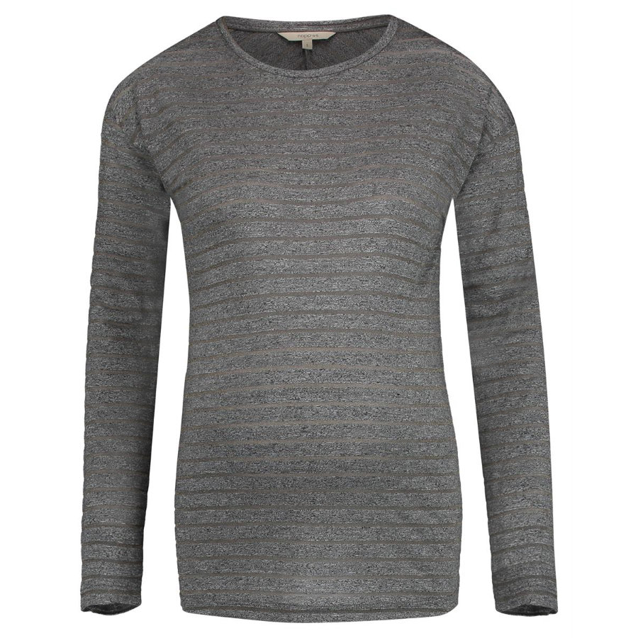 noppies Langarmshirt Lauren Grey Melange