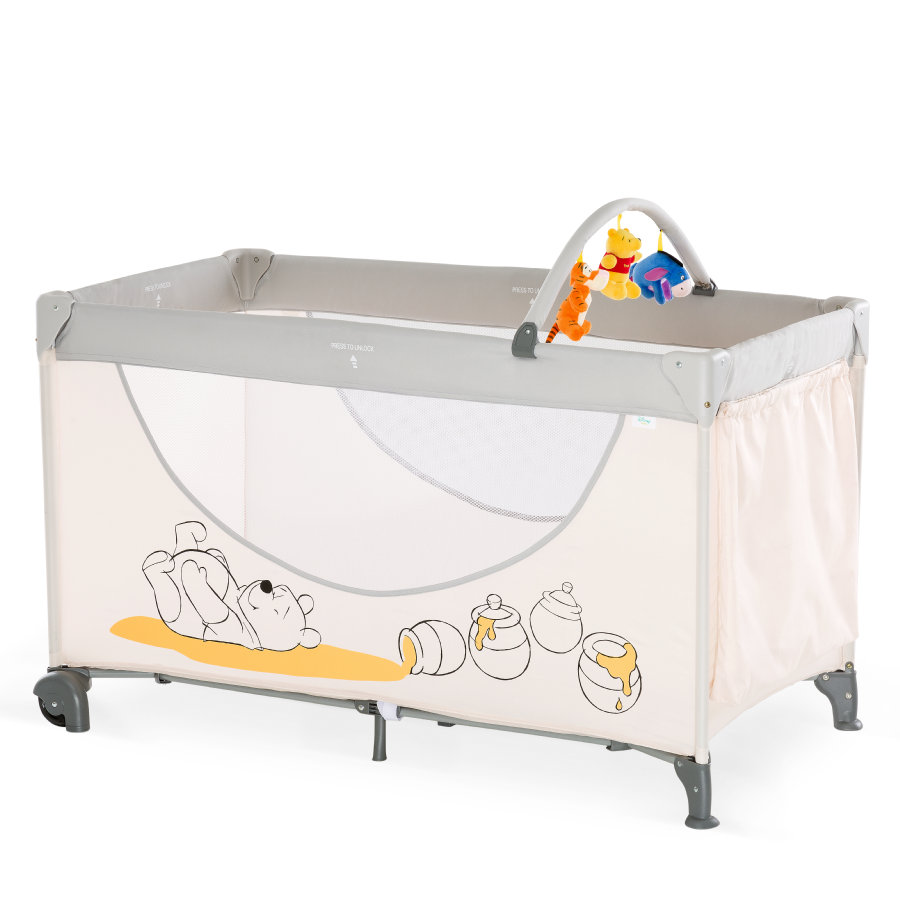 HAUCK Cuna de viaje Dream'n Play Go Pooh Cuddles