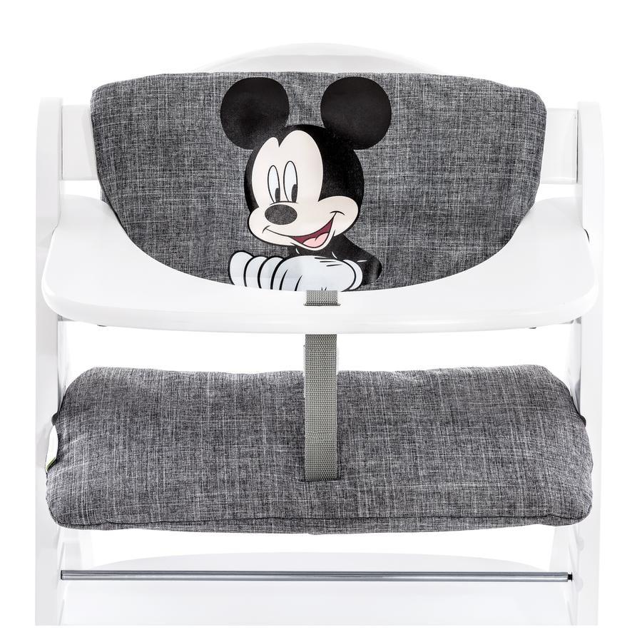 hauck Hochstuhlauflage de luxe Mickey grey
