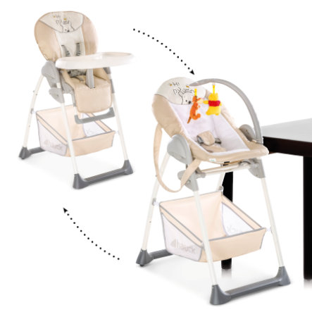Hauck Sit´n Relax 2v1 2019 jídelní židlička Pooh Cuddles