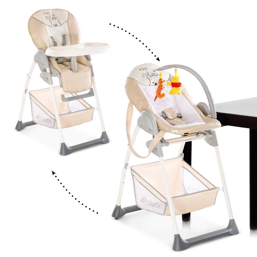 hauck Chaise haute bébé évolutive Sit'n Relax Winnie l'ourson