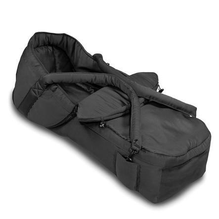 HAUCK Miękka gondola/nosidło 2 w 1 kolor czarny