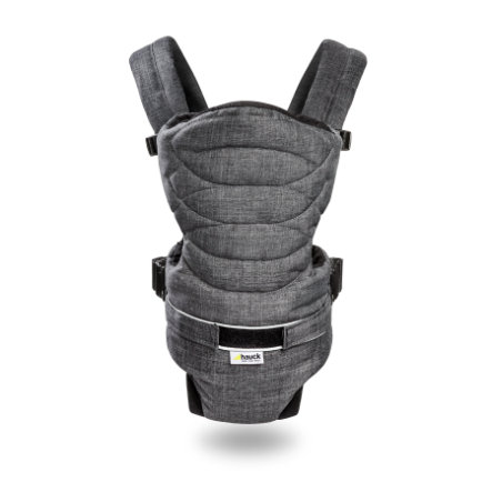 Hauck Bæresele 2-Way-Carrier Melange Charcoal