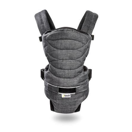 a623c8096f0c hauck Porte-bébé ventral 2-Way Carrier mélange charcoal   roseoubleu.fr