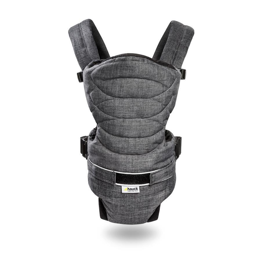 HAUCK Bärsele 2-Way-Carrier Melange Charcoal