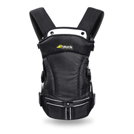 HAUCK Bauchtrage 3-Way-Carrier black