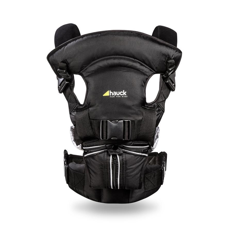 HAUCK Bauchtrage 4-Way-Carrier black