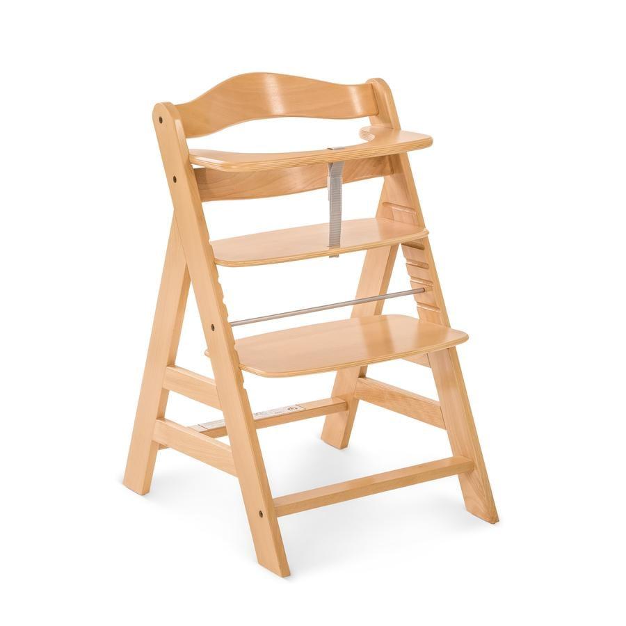 Hauck Alpha+ jídelní židlička natur