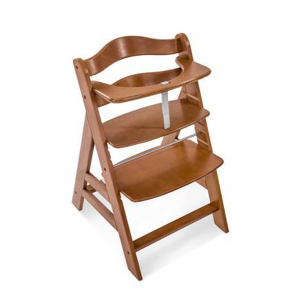 hauck Chaise haute enfant évolutive Alpha Plus bois, walnut