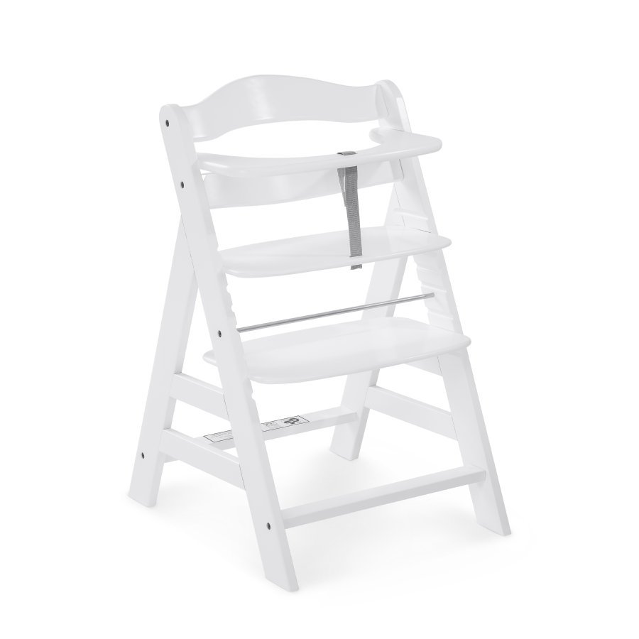 HAUCK Jídelní židlička Alpha+ 2018 bílá