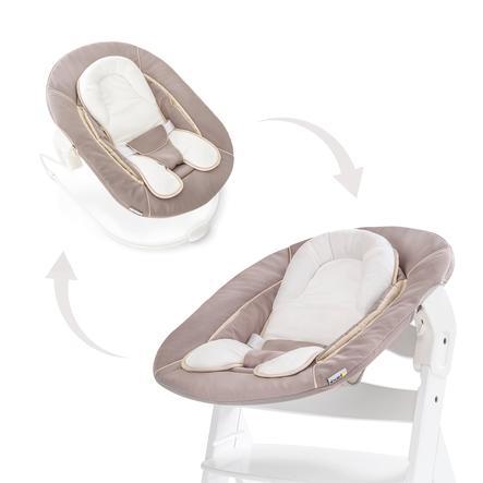 hauck Babyaufsatz Alpha Bouncer 2in1 Stretch Beige