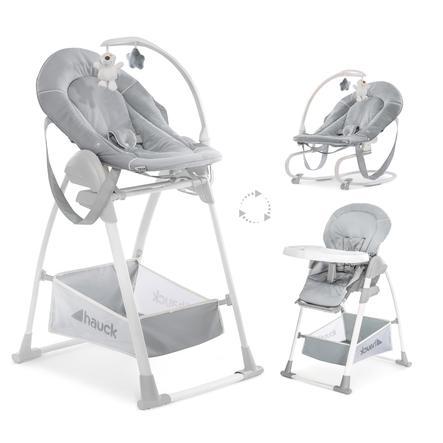 Hauck Sit´n Relax 3v1 2020 jídelní židlička stretch grey