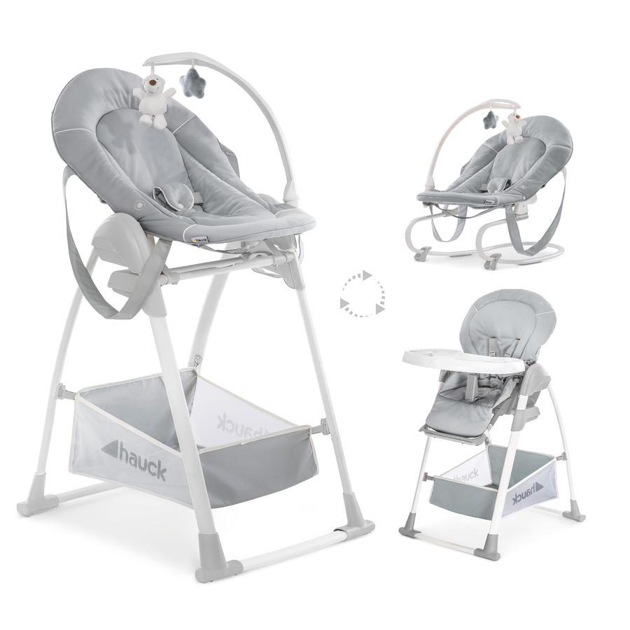 hauck Chaise haute Sit'n Relax 3 en 1 stretch gris
