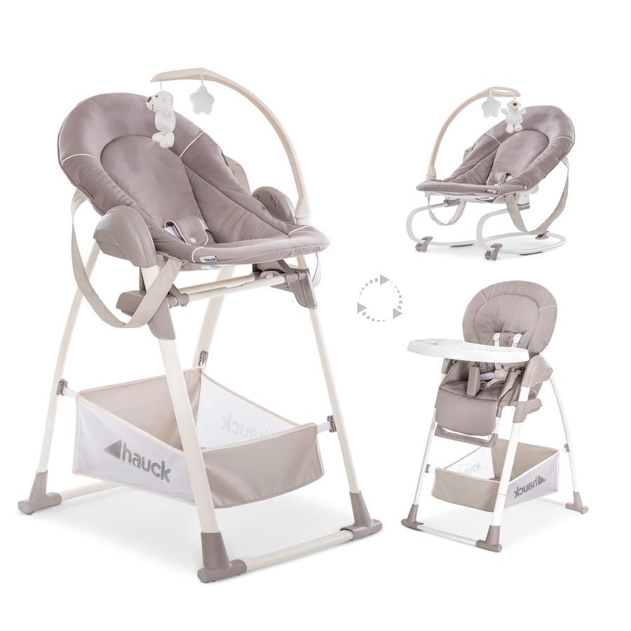 hauck Chaise haute enfant évolutive Sit'n Relax 3en1 stretch beige
