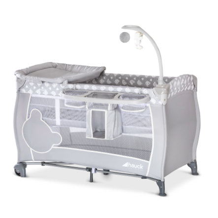 hauck Reisebett Babycenter Teddy Grey