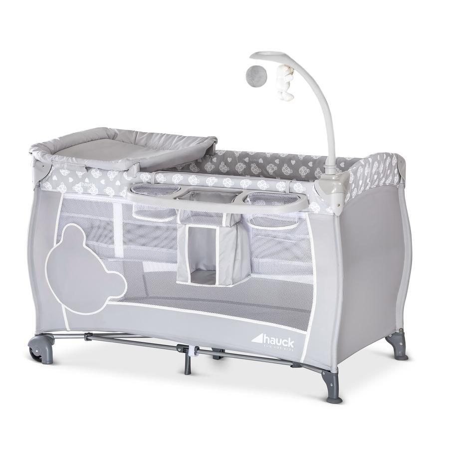 HAUCK Matkasänky Babycenter, Teddy Grey