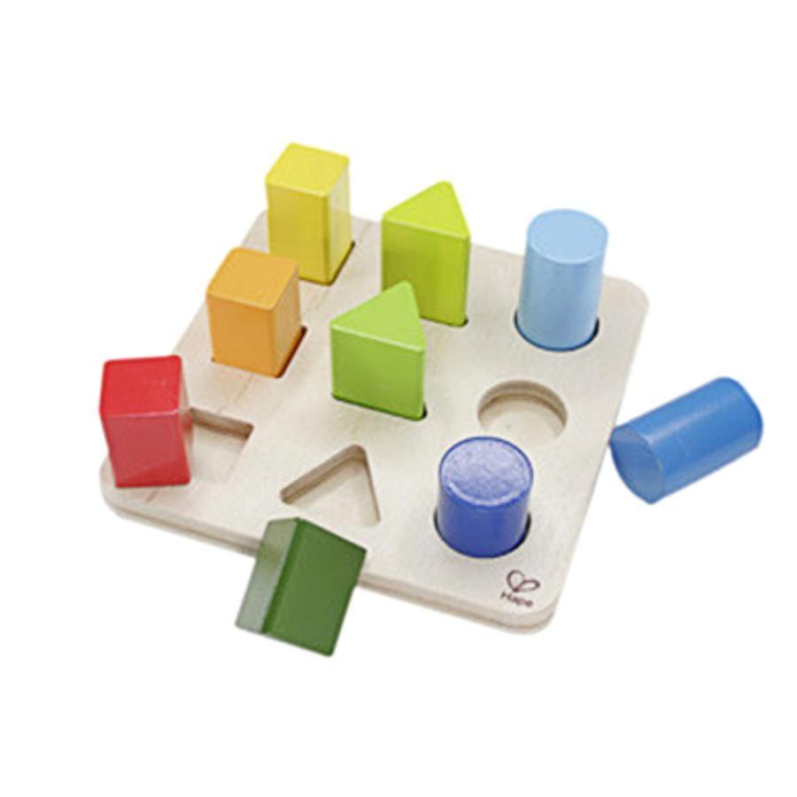 Hape Jeu de formes et couleurs bois E0426