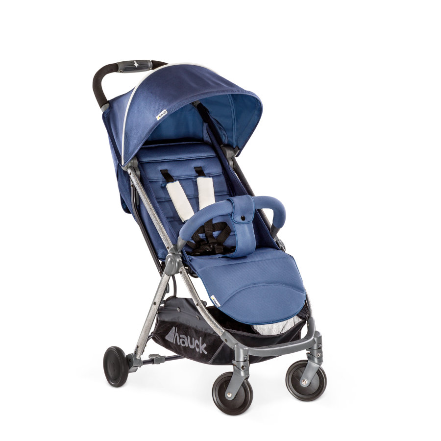 hauck Poussette compacte citadine Swift Plus denim
