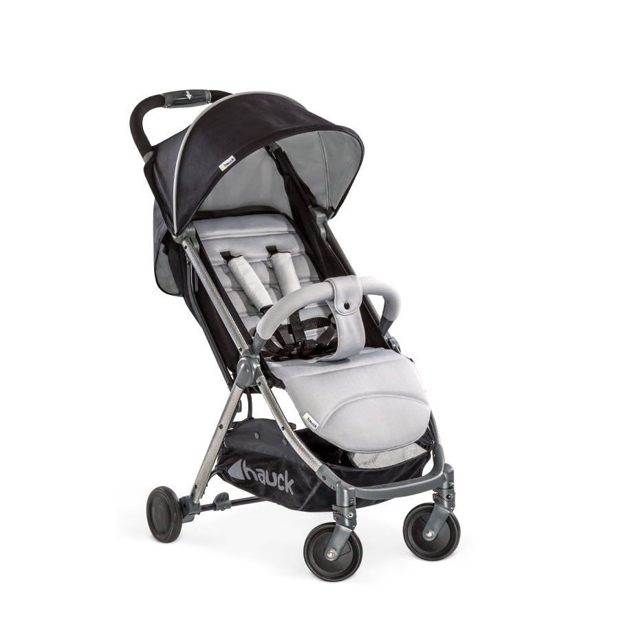 hauck Buggy Swift Plus Silver/Charcoal