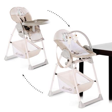 hauck Chaise haute bébé évolutive Sit'n Relax friend