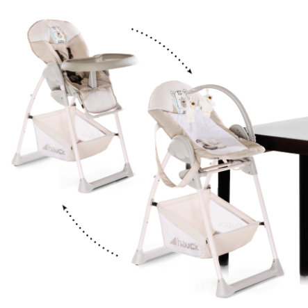 Hauck Sit´n Relax 2019 jídelní židlička 2v1 friend