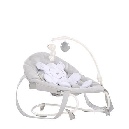 hauck Transat bébé Leisure teddy gris