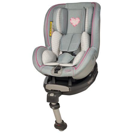osann autostoel Jet Heart - grey by Sarah Harrison