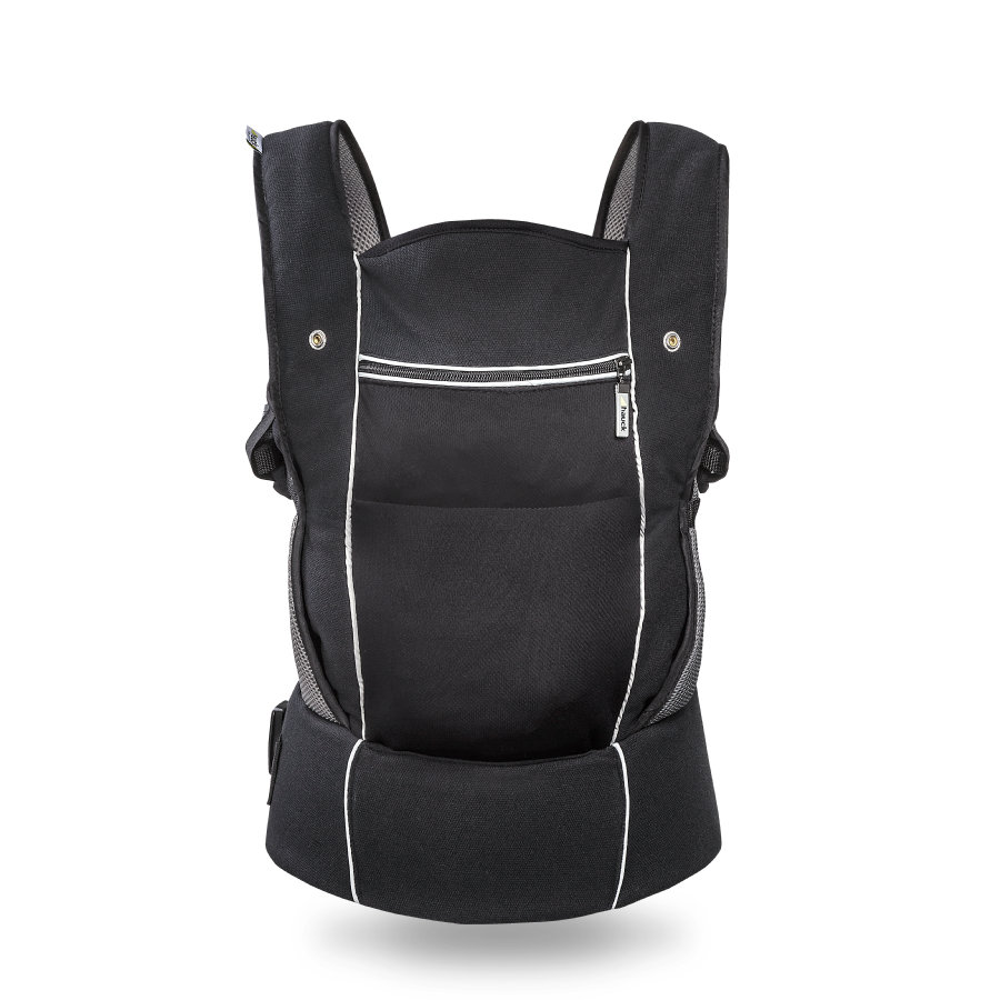 HAUCK Marsupio 3-Way-Carrier black, colore nero