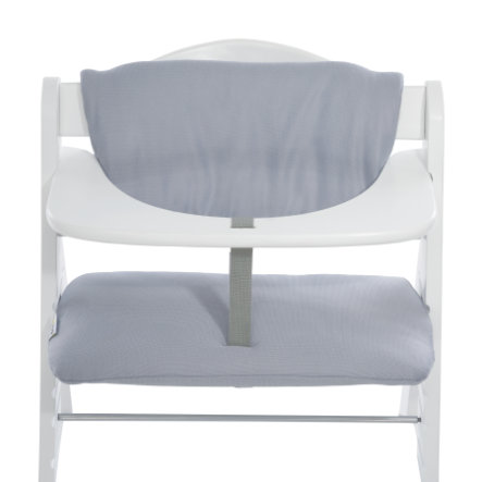 hauck Coussin d'assise chaise haute Deluxe Stretch gris, 2019
