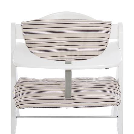 hauck Coussin d'assise chaise haute Deluxe multicolore beige