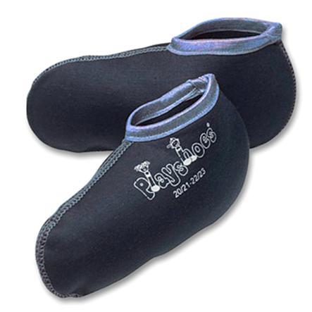 Playshoes Boys Stiefelsocke marine / hellblau