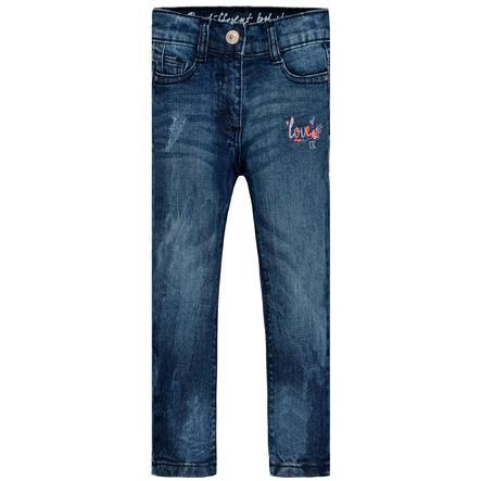 STACCATO Jeans för flickor mörkblå