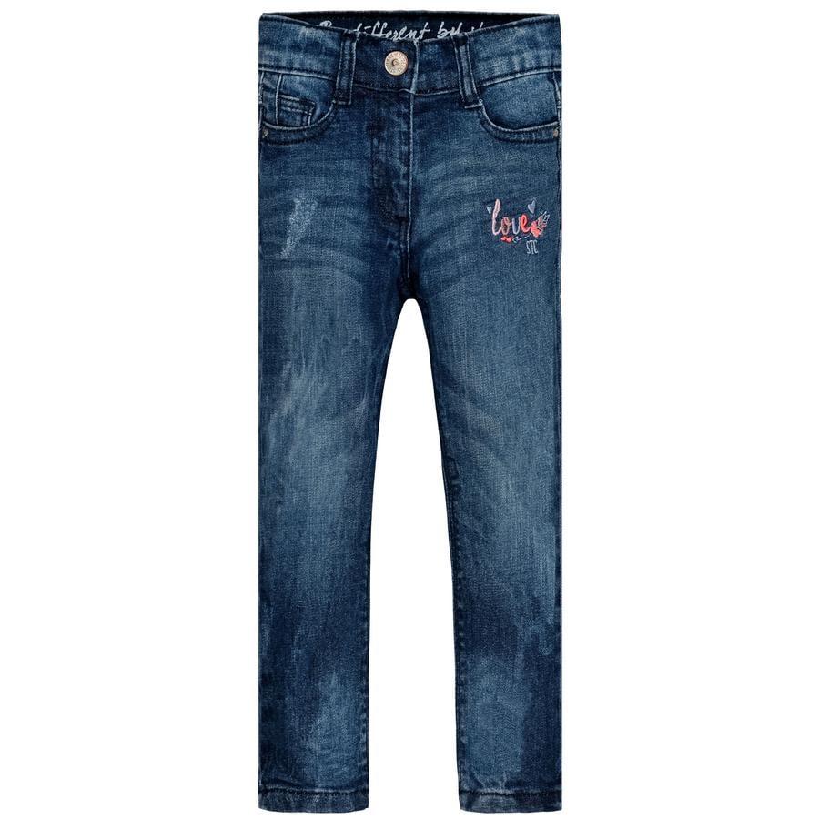 STACCATO Girl s pantalones vaqueros azul oscuro