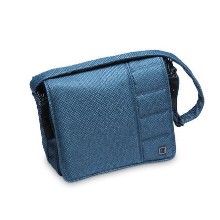 MOON Wickeltasche blue/panama