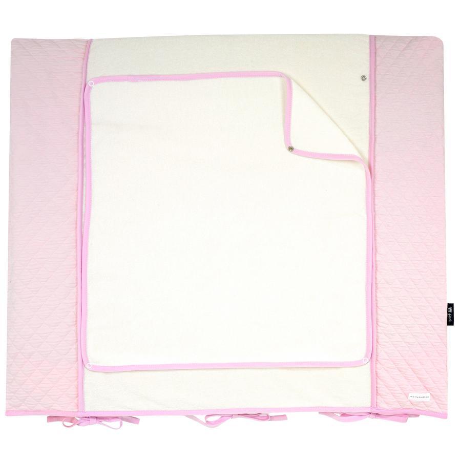 bellybutton by Alvi Wickelauflagenbezug, Classic Line Dream, rosa 85 x 70 cm