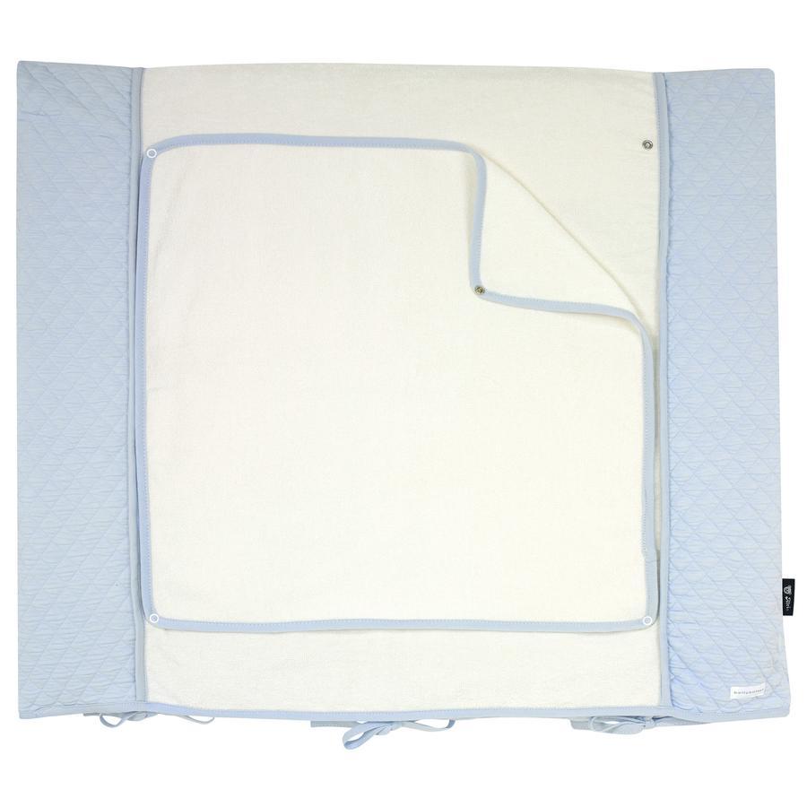 bellybutton by Alvi Wickelauflagenbezug, Classic Line Dream, blau 85 x 70 cm