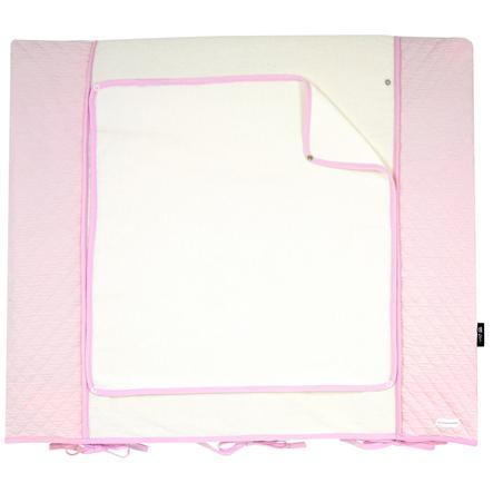 bellybutton by Alvi Przewijak z pokrowcem Classic Line Dream, różowy