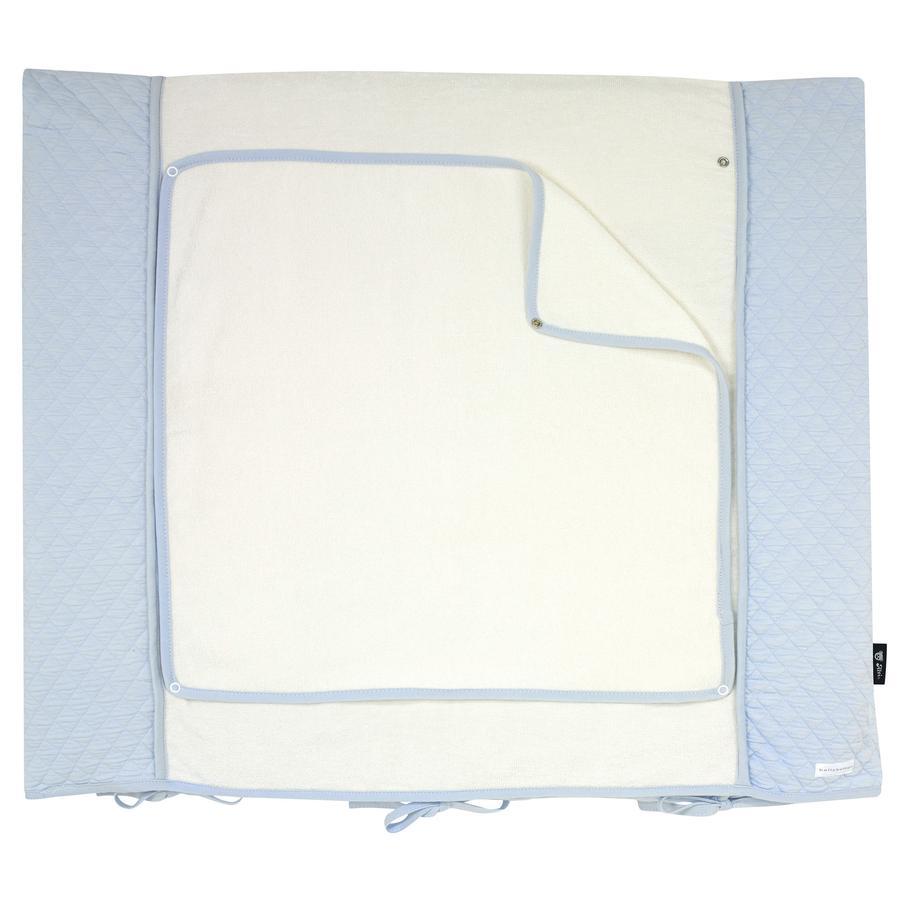 bellybutton by Alvi pusleunderlag med betræk, Classic Line Dream, blå