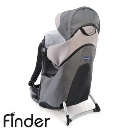 CHICCO Rückentrage Finder DOVE GREY