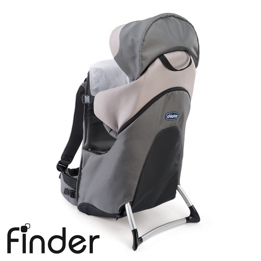 CHICCO Rugdrager Finder DOVE GREY Collectie 2015