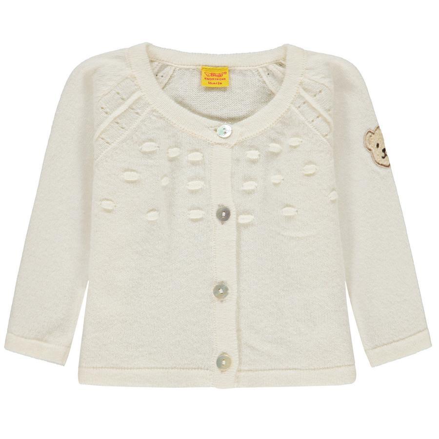 wholesale dealer 8e616 46828 Steiff Girls Strickjacke, weiß