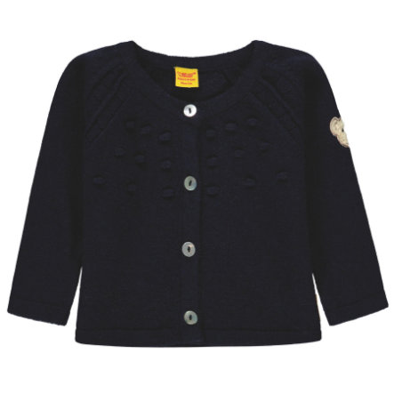 Steiff Girls Strickjacke, blau