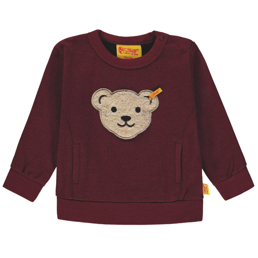Steiff Boys Sweater, rood