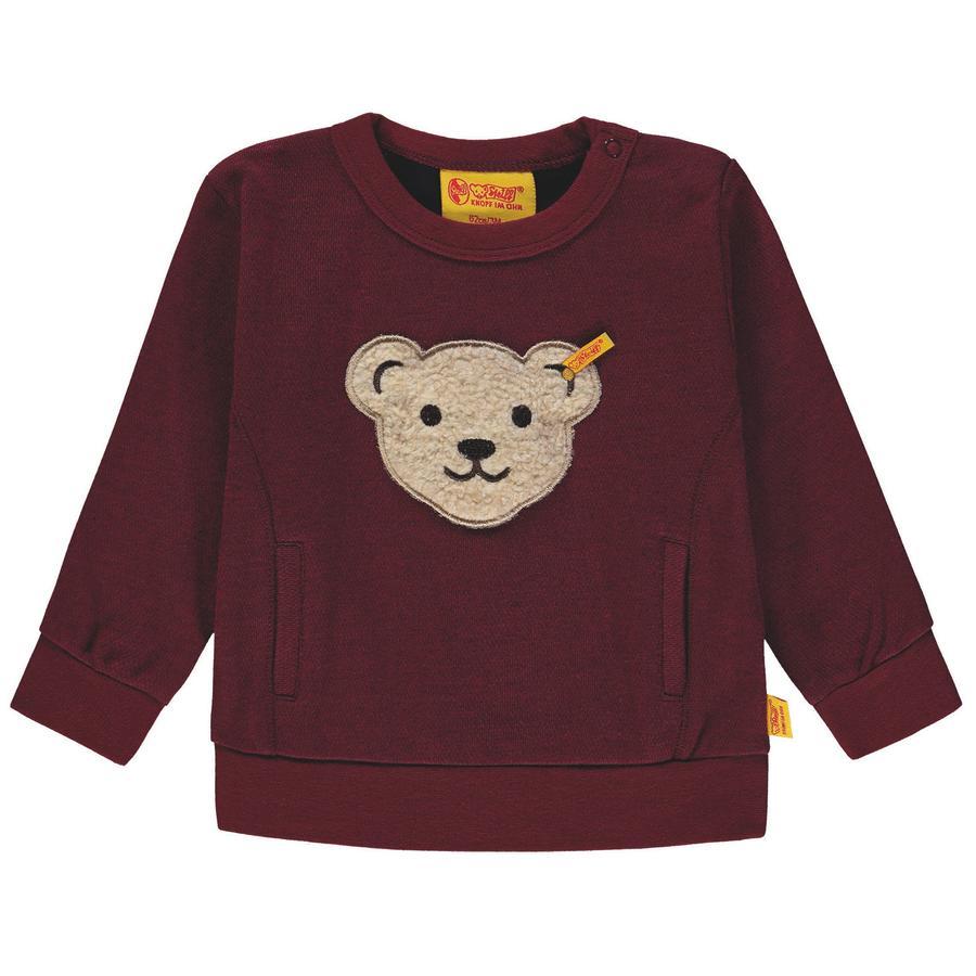 Steiff Boys Sweatshirt, rot