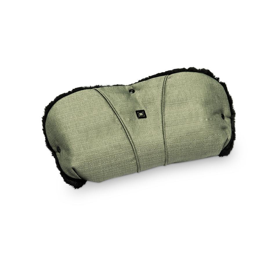 MOON Protège-mains pour poussette olive/structure