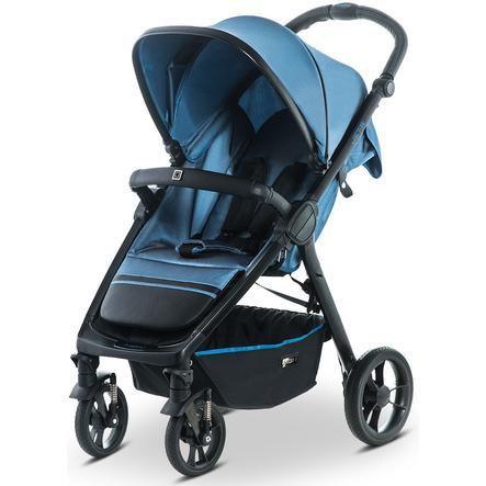 MOON Sittvagn JET - R City blue/nylon stripe
