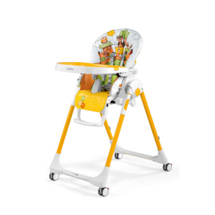 Peg-Perego Chaise haute bébé Prima Pappa Follow Me fox & friends, 2019