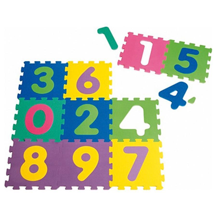 Playshoes EVA Puzzlematten 10-teilig